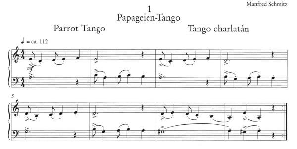Papgeien tango