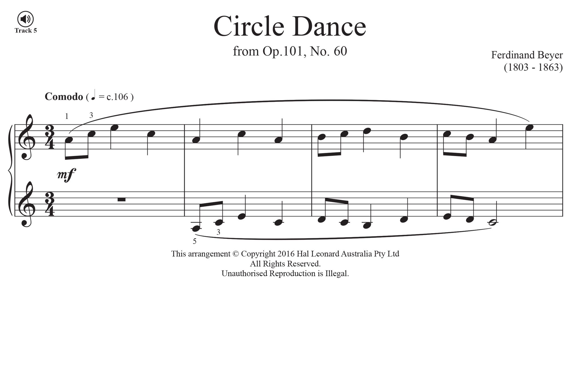 Circle Dance - Beyer